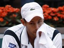 Andy Roddick ngậm ngùi sau thất bại