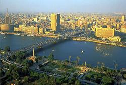 Thủ đô Cai-rô (Ai Cập) bên bờ sông Nin