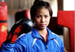 Vương Thị Vy, người đã mang HCV thế giới đầu tiên về cho VN.