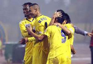 SLNA đang có nhiều cơ hội vào vòng đấu loại trực tiếp cua AFC Cup 2011
