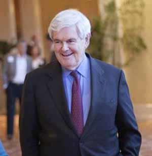Chủ tịch Hạ viện Mỹ Newt Gingrich.
