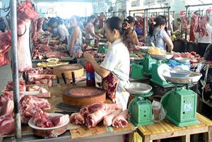 Thịt heo sạch cũng có thể chứa vi khuẩn liên cầu lợn (ảnh minh hoạ).