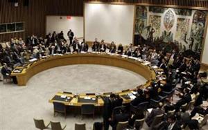 Một phiên biểu quyết tại Hội đồng Bảo an Liên Hiệp Quốc về vấn đề châu Phi. Ảnh: AP