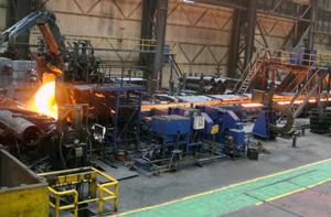 Dây chuyền sản xuất thép miếng theo công nghệ ESP tại nhà máy thép JSW
