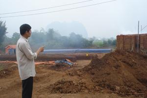 Lò gạch dã chiến tại khu vực dân cư xóm Bày, xã Quy Hậu (Tân Lạc)