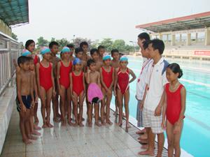 Các thành viên BHL và các VĐV đội tuyển bơi tỉnh ta có sự chuẩn bị tốt về nhiều mặt, sẵn sàng cho cuộc đua tài tại HKPĐ toàn quốc tại Phú Thọ.