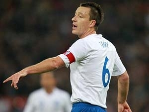 Terry trở lại tuyển Anh.