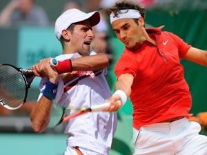 Djokovic - Federer đại chiến. (Nguồn: Getty Images)