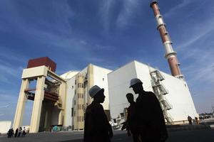 Nhà máy điện hạt nhân duy nhất hiện nay của Iran tại Bushehr.