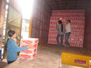 Công ty TNHH MTV Phương Khương đã nhập, dự trữ đủ cơ số lương thực cung cấp, chi viện cho vùng thiên tai, lụt bão.