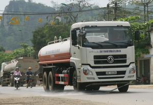Công ty TNHH Môi trường đô thị Lương Sơn đầu tư thiết bị,  phương tiện phục vụ  công tác vệ sinh đô thị.
