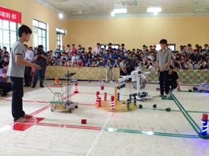 Một trận thi đấu tại cuộc thi.