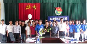 CLB thanh niên hiến máu tình nguyện xã Hoà Sơn ra mắt.
