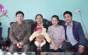 Gia đình ông Bùi Văn Lục, Phố Hữu Nghị, nhiều năm liên tục đạt gia đình văn hóa tiêu biểu của thị trấn Vụ Bản.