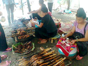Cá làm nên những món ăn độc đáo trong ẩm thực của đồng bào dân tộc Thái.
