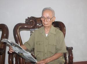 Bác Phạm Ngọc Thể - người vinh dự ba lần được gặp Bác Hồ.