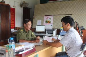 Công an xã Ngọc Lương (Yên Thủy) tập trung thực hiện công tác quản lý nhân, hộ khẩu, đảm bảo ANTT vùng giáp ranh.