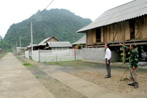 Khu tái định cư Rộc Yểng được đầu tư đồng bộ cơ sở hạ tầng phục vụ đời sống người dân.