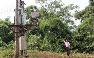 Với chỉ 1 trạm biến áp như hiện tại không đảm bảo chất lượng điện như nhu cầu cấp thiết của hơn 500 hộ dân của xã Tây Phong (Cao Phong).