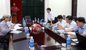 Lãnh đạo Sở NN&PTNT tiếp thu ý kiến của đoàn công tác Hội Bảo vệ quyền lợi NTD.