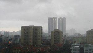 Bắc Bộ tiếp tục mưa rào, vùng núi và trung du có nơi mưa vừa, mưa to và dông. (Ảnh: VOV)
