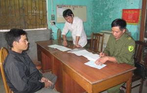 Xã Trung Minh (TPHB) chú trọng làm tốt công tác quản lý nhân, hộ khẩu, giữ vững AN-TT từ cơ sở.