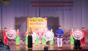 Tiết mục đạt giải A nội dung tuyên truyền miệng của  đơn vị thành phố Hoà Bình.