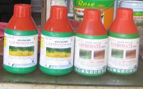Người dân tránh để tồn dư hay tích trữ thuốc diệt cỏ trong nhà.