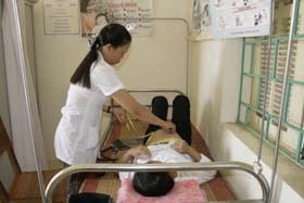 Phụ nữ thai sản xã Cao Sơn được quan tâm chăm sóc thai sản đủ 3 lần trước khi sinh.