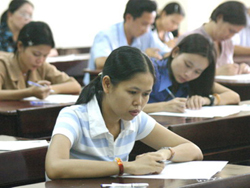 Sức khỏe ảnh hưởng rất lớn đến chất lượng bài thi.