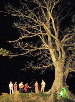 Đêm nhạc Trịnh trong Vườn Cơ Hạ.