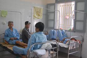 Bệnh viên Đa khoa tỉnh đang quá tải bệnh nhân