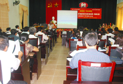 Triển khai kế hoạch tổ chức Hội thi đến đại biểu các huyện, thành phố