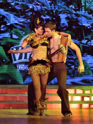 Ý tưởng trong bài nhảy của Thu Minh được BGK đánh giá rất cao