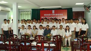 Các học viên của 15 tỉnh tham dự khóa học quản lý thể thao, Ôlimpic.