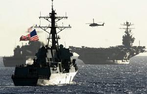 Khu trục hạm USS Chung-hoon của Mỹ.