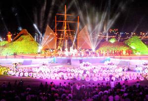 Chương trình khai mạc Festival biển Vũng Tàu với chủ đề Tình biển - Tình người.