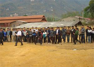 Thị trấn Mai Châu quan tâm gìn giữ và phát triển các hoạt động văn hóa, văn nghệ, thể thao tại cộng đồng.