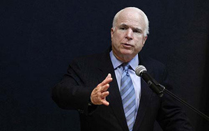 Thượng nghị sĩ Mỹ John McCain kêu gọi Washington tăng cường giúp đỡ ASEAN   để đương đầu với Trung Quốc trong cuộc tranh chấp chủ quyền ở biển Đông hiện nay