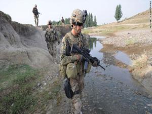 Tổng thống Mỹ Barack Obama dự kiến sẽ rút 10.000 quân khỏi Afghanistan trong vòng một năm