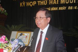 Đồng Bùi Văn Tỉnh, UVTW Đảng, Phó Bí thư Tỉnh, Chủ tịch UBND tỉnh