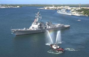 Tàu chiến USS Chung-Hoon của Hải quân Mỹ