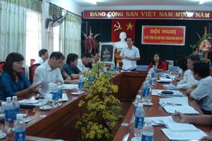 Đồng chí Nguyễn Văn Quang, Phó Bí thư Thường trực Tỉnh ủy, Chủ tịch HĐND tỉnh phát biểu chỉ đạo hội nghị.