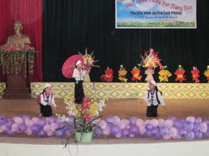 Một ca khúc đơn ca thể loại dân ca xuất sắc trình diễn tại Liên hoan.