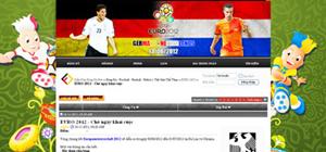 Cộng đồng mạng rất hào hứng trước sự kiện hấp dẫn như EURO 2012.