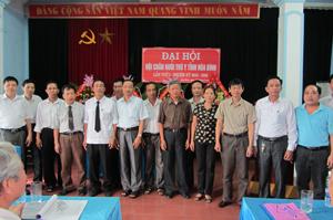 BCH Hội Chăn nuôi Thú y tỉnh nhiệm kỳ I (2012 – 2016) ra mắt đại hội.
