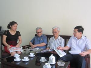 Lãnh đạo, phóng viên Báo Hòa Bình thường xuyên gặp gỡ trao đổi với đội ngũ CTV để nâng cao chất lượng, hiệu quả công tác thông tin, tuyên truyền.