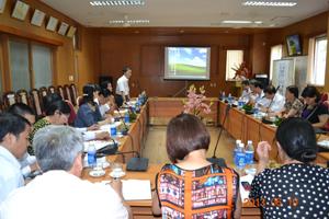 Đoàn công tác Tổng cục DS-KHHGĐ (Bộ Y tế) làm việc với lãnh đạo tỉnh, ngành Y tế.