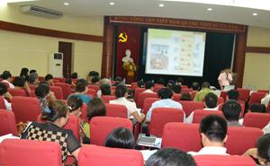 Hội thảo chuyên môn về an toàn thực phẩm.
