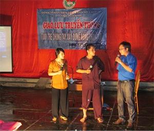 Đội tuyên truyền Tỉnh Đoàn Hòa Bình.